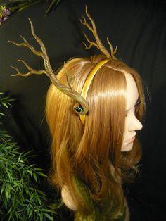 Forest Queen - Handmade Branch-Antlers by Ganjamira <3