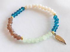 Elegant Bracelet for Woman, Beaded Small Crystals Bracelet, Gift for Her, Gift for Woman, Unique Bracelet for Gift, Unique Gift for Friend by modotikon on Etsy