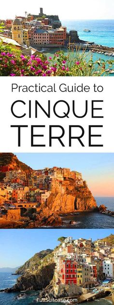 Practical information for visiting Cinque Terre villages in Italy #CinqueTerre #Italy