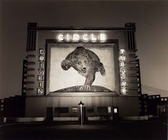 "Here is a great photo from artist Steve Fitch, entitled ""Circle Drive In Theater, Highway Waco TX It is from his acclaimed series, ""Diesels and Dinosaurs."" Check it out if you have time, and like photos of Americana."