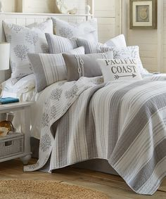 Look at this Ocean Dream Quilt Set on #zulily today!