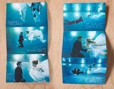 Underwater Engagement Photos + Save the Date! Probably the coolest Save the Date ever! Engagement Pictures, Engagement Shoots, Wedding Engagement, Our Wedding, Dream Wedding, Wedding Bells, Wedding Times, Fantasy Wedding, Engagement Ideas