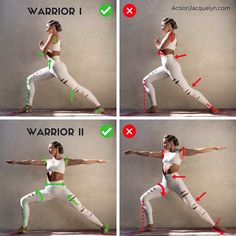 Today's @getstretchy tutorial is on the powerful and strength cultivating WARRIOR I & WARRIOR II poses!! ⚡️ Doing a warrior pose in class…