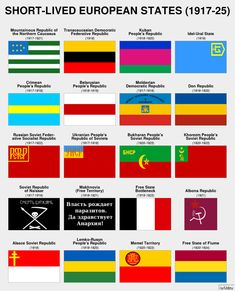 Some short-lived European flags from Alternate Worlds, Alternate History, Flags Of The World, The Real World, Earth Flag, European Flags, Flag Ideas, Continuing Education, Interesting History