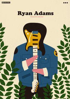ryan adams | sony music poland | poster