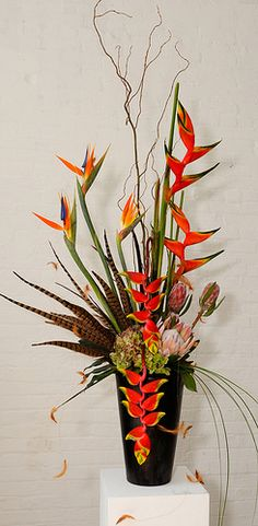Flower Factor asked what arrangements were our favorites, we choose Tribal Threads!