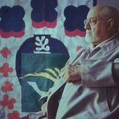 Henri Matisse in his Paris Studio, 1949