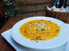Sopa de cenoura com gorgonzola (Foto: Divulgação)