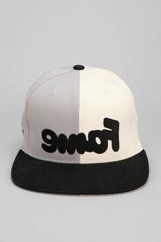 Hall Of Fame Snafu Split Snapback Hat #urbanoutfitters