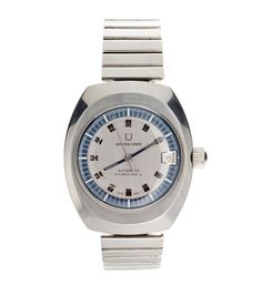 Rare Vintage Men`s Stainless Steel Universal Geneve Polerouter Watch from Baer & Bosch Auctioneers.