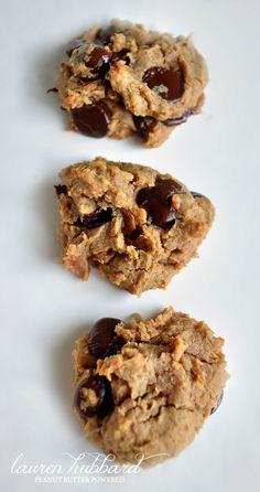 Delicious (and healthy) Chocolate Chip Cookies -- a must try recipe!!