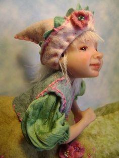 Garden Gnome Girl by Poppenmoon