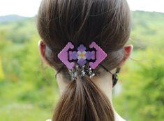 Perler Beads, Hama Beads Minecraft, Fuse Beads, Pearler Bead Patterns, Perler Patterns, Hand Designs, Flower Designs, Melting Beads, Plastic Beads