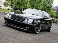 BENZTUNING | The Largest Photo Collection of Mercedes-Benz: Mercedes CLK W208 bippu style
