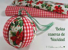 Celebra con Ana: ♥ Bolas de Navidad caseras