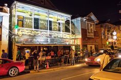Maple Leaf is one of the longest continually operating music clubs in New Orleans, and hosts performers of blues, funk, R&B, rock, Zydeco, jazz, and any combination thereof.
