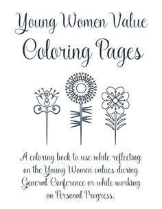 Give this coloring book to your Young Women to use during General Conference or while doing Personal Progress. For the past few years, I have always tried to have something new to use for General Conference in Young Women and in Primary (I was recently called to Primary out of Young Women). I take it …