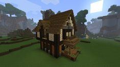 Cozy Medieval House and Inn - Screenshots - Show Your Creation - Minecraft Forum Minecraft Bridges, Minecraft Building Guide, Minecraft City, Minecraft Plans, Minecraft Projects, Minecraft Designs, Minecraft Buildings, Minecraft Medieval Village, Medieval Houses