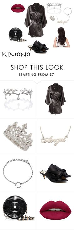 """""""Kimono Vibe"""" by trixievogue on Polyvore featuring Remedios, Garrard, N°21, Cult Gaia and Huda Beauty"""