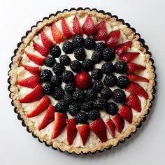 Berry and Mascarpone Tart