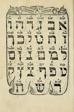 The Hebrew alphabet… Hebrew Writing, Biblical Hebrew, Hebrew Words, Hebrew Tattoo, Arte Judaica, Calligraphy Text, Learn Hebrew, Jewish Art, Torah