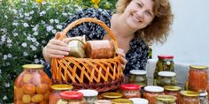 Kimchi, Pickles, Picnic, Basket, Treats, Homemade, Canning, Food Treat, Sweet Like Candy