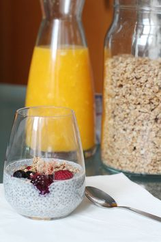 chia pudding - Berries & Passion