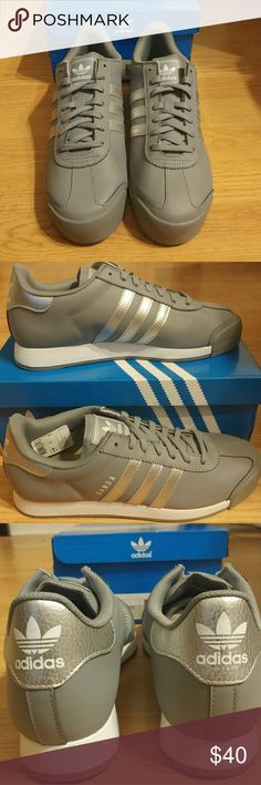 Adidas Samoa shoes Men's shoes Size 10 Grey, silver and white Brand new adidas Shoes Sneakers