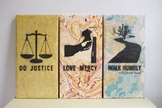 do justice wall art micah 6:8 by box64studios on Etsy