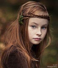 beautiful irish child