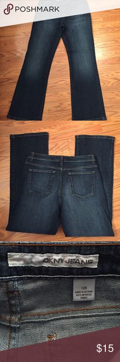 """Dkny jeans Dkny bootcut jeans, inseam 30"""" 99% cotton 1% spandex DKNY Jeans Boot Cut"""