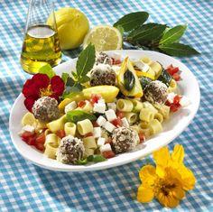 Nudel-Zucchini-Antipasti-Salat Rezept | LECKER