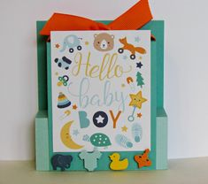 Baby Boy Pop Up Card. Pop Up Front Step Panel Card. by NancysCardsandMore on Etsy Baby Boy Cards, Baby Shower Cards, Halloween Greetings, Halloween Cards, Handmade Greetings, Greeting Cards Handmade, Baby Pop, Pop Up Box Cards, Step Cards