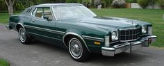 1976 Ford Elite Pictures: See 26 pics for 1976 Ford Elite. Browse interior and exterior photos for 1976 Ford Elite. Grand Torino, Mid Size Car, American Auto, Ford Torino, Lincoln Mercury, Station Wagon, Car Photos, Old Cars, Cars And Motorcycles