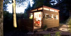 super small, but i love the design.  maybe i could put 3 of these together?  http://modern-shed.com/