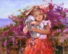 Winnie the Pooh - Eeyore's Sunny Day - Irene Sheri - World-Wide-Art.com