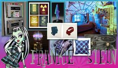 A room makeover for Frankie Stein from Monster High