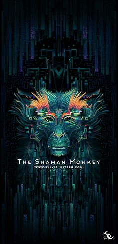The Shaman Monkey by SylviaRitter.deviantart.com on @DeviantArt