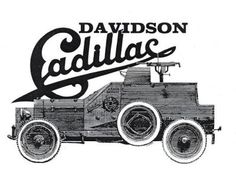 1915 Davidson-Cadillac Armoured Car - the first fully armoured motor vehicle to be built in the U.S.A.