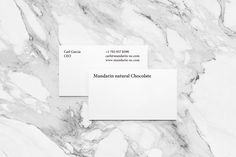 Picture of stationery designed by Yuta Takahashi for the project Mandarin natural Chocolate. Published on the Visual Journal in date 26 January 2016 Minimalist Graphic Design, Cacao Chocolate, Cacao Beans, Branding, How To Make Chocolate, Texture Design, Stationery Design, Cards Against Humanity, Natural