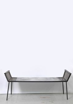 Franz West. furniture. bench