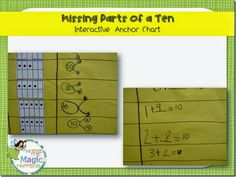 Missing parts of a ten anchor chart