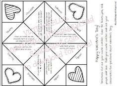 Cootie Catcher For ValentineS Day  Crafts    Catcher