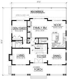 Craftsman House Plan ID: chp-35646 - COOLhouseplans.com
