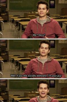Oh yeah babe  (; Teen Wolf actor Dylan O'Brien #gif #funny #famous