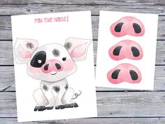 Pin the nose on pua game