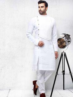 Mens Kurta Pajama: Buy Indian Kurta Suit Online for Wedding & Festival wear Nigerian Men Fashion, Indian Men Fashion, Mens Fashion Suits, Fashion Shirts, Men's Fashion, Gents Kurta Design, Boys Kurta Design, Kurta Pajama Men, Kurta Men