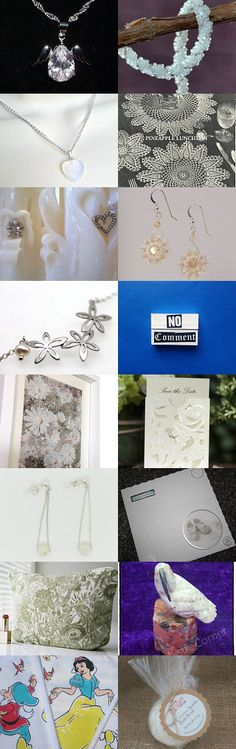 Crystal White by Karen Dunn on Etsy--Pinned with TreasuryPin.com
