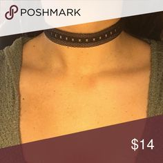 Fishnet Choker Nickel and lead free. Brand new with tags Ashlee Natalia Jewelry Necklaces