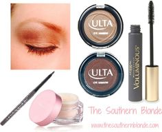 Everyday Neutral Eye Makeup | The Southern Blonde #browneyemakeuptips #neutraleyemakeuptips
